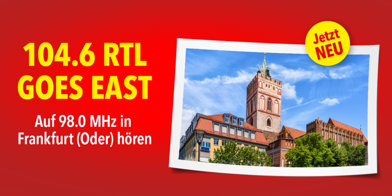 Berlins Hitradio Nummer 1 goes EAST!