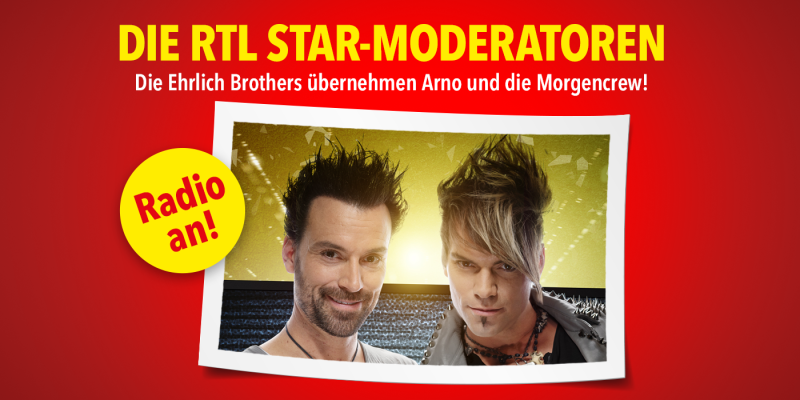 Die RTL Star-Moderatoren