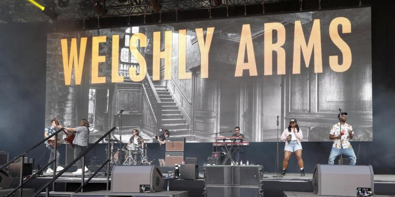 Welshly Arms live bei STARS for FREE 2019